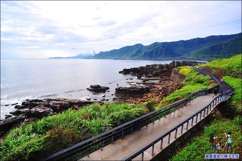 【基隆親子友善海岸步道】外木山海濱步道,有廁所/全程可推嬰兒推車/輪椅