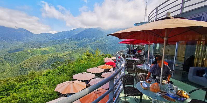 新竹尖石景觀餐廳|數碼天空景觀園區~海拔1200公尺飛碟玻璃屋、可愛鬆獅犬、森林步道IG打卡秘境