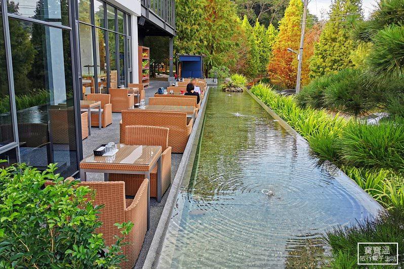 台中新社》松之戀The Pines落羽松景觀餐廳,座落夢幻湖岸秘境,下午茶聚會好選擇