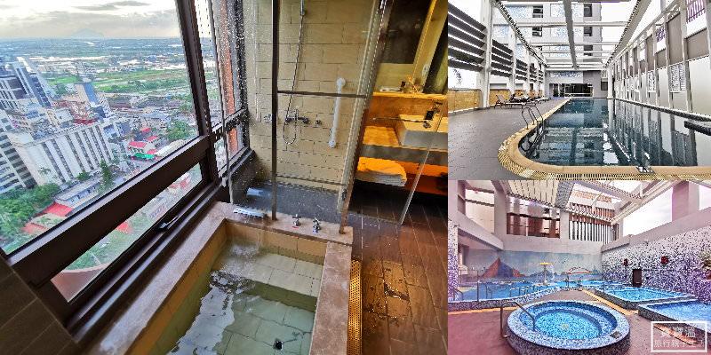 宜蘭礁溪住宿》礁溪麒麟大飯店, 房內就能泡溫泉看龜山島,房客獨享SPA水療區、頂樓露天風呂