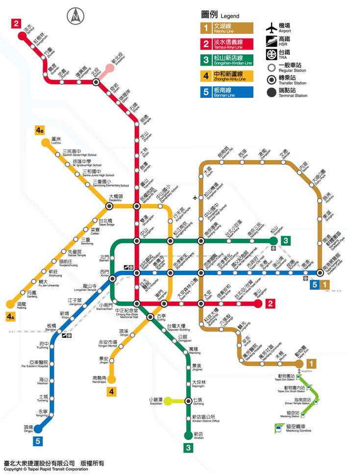 routemap201411.jpg - 台北捷運地圖