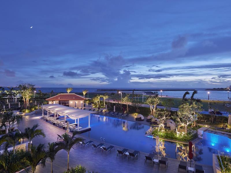 沖縄北谷希爾頓度假飯店 (Hilton Okinawa Chatan Resort)_02.jpg - 沖繩海濱飯店(美國村、宜野灣、沖繩南部)