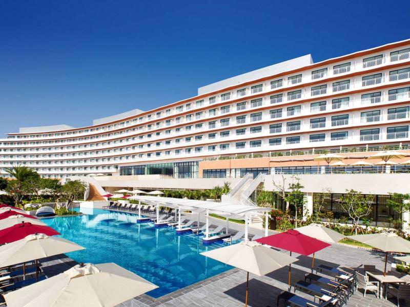沖縄北谷希爾頓度假飯店 (Hilton Okinawa Chatan Resort)_01.jpg - 沖繩海濱飯店(美國村、宜野灣、沖繩南部)