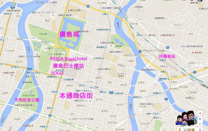 廣島地圖.jpg - 廣島機場交通