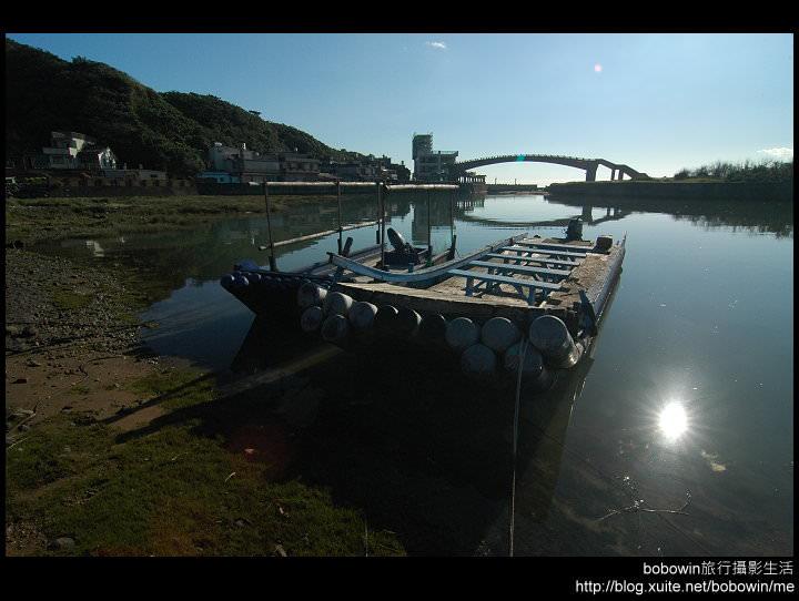 [ 新北市一日遊 ] 金山水尾漁港景觀橋周邊&金山海岸步道