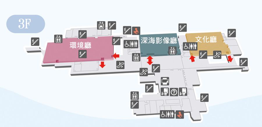 主題館a3f.jpg - 基隆海生館~適合大朋友的博物館
